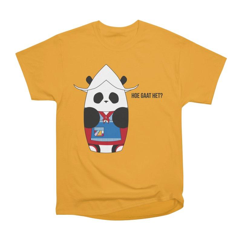 Culture Panda - Netherlands Women's Heavyweight Unisex T-Shirt by Designs by sakubik