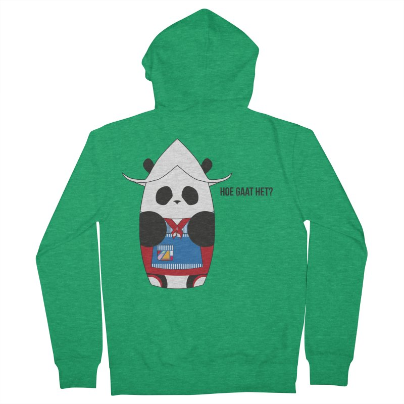 Culture Panda - Netherlands Men's Zip-Up Hoody by Designs by sakubik