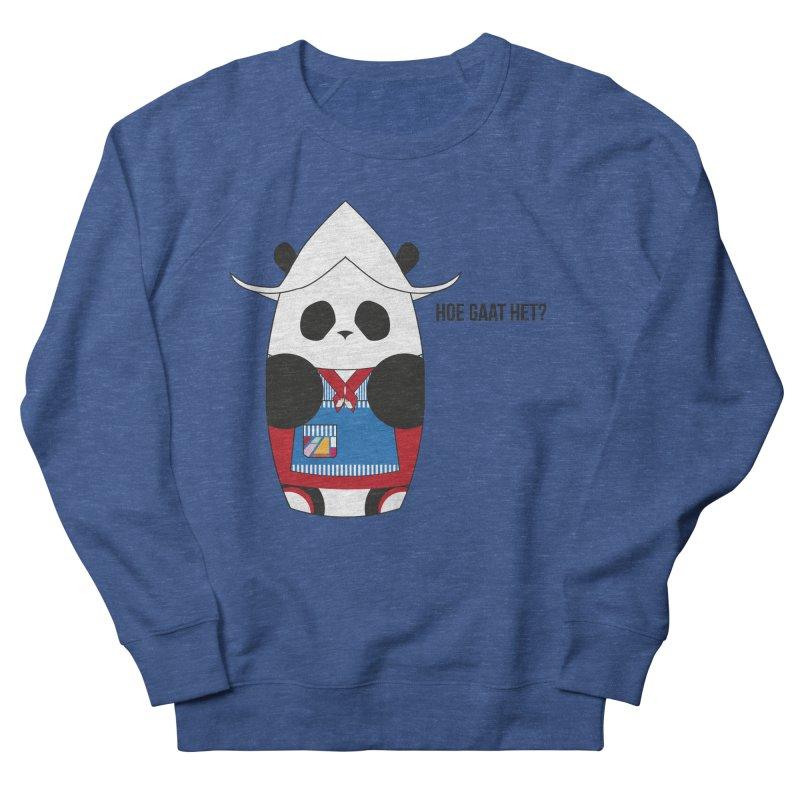 Culture Panda - Netherlands Men's French Terry Sweatshirt by Designs by sakubik
