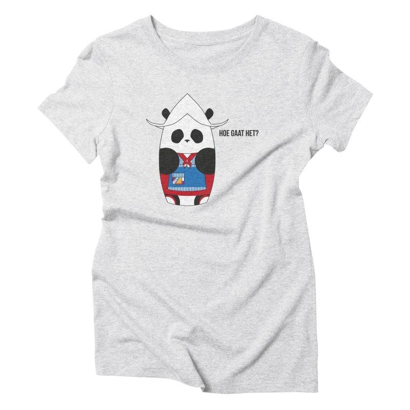 Culture Panda - Netherlands Women's T-Shirt by Designs by sakubik