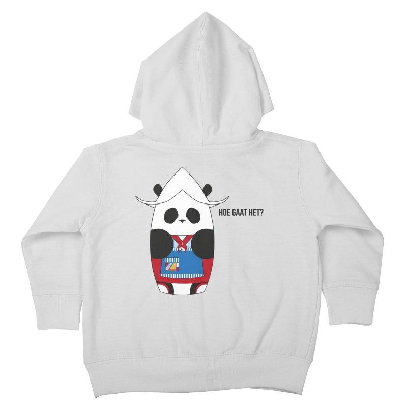 Culture Panda - Netherlands Kids Toddler Zip-Up Hoody by Designs by sakubik