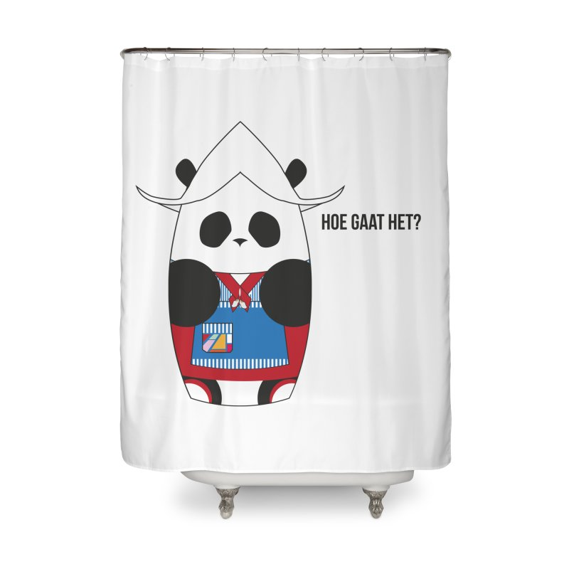 Culture Panda - Netherlands Home Shower Curtain by Designs by sakubik