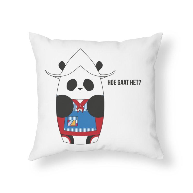 Culture Panda - Netherlands Home Throw Pillow by Designs by sakubik