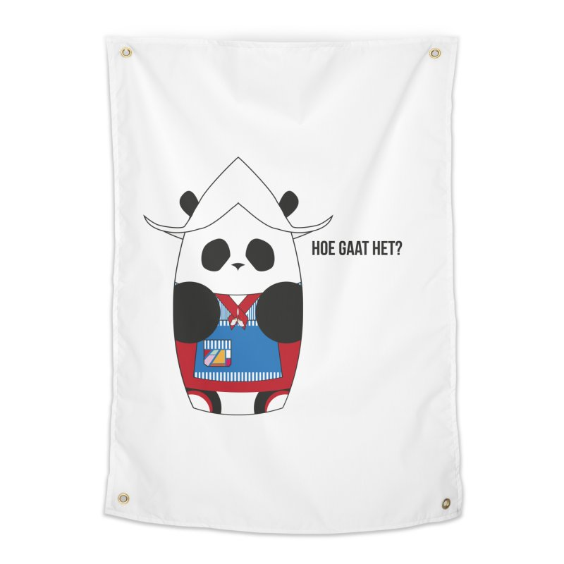 Culture Panda - Netherlands Home Tapestry by Designs by sakubik