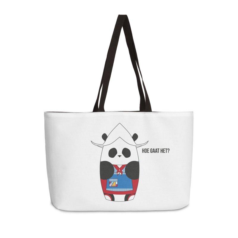 Culture Panda - Netherlands Accessories Weekender Bag Bag by Designs by sakubik