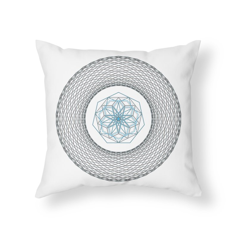 7x7 Ties in 7x7 Time Home Throw Pillow by saldjami's Artist Shop