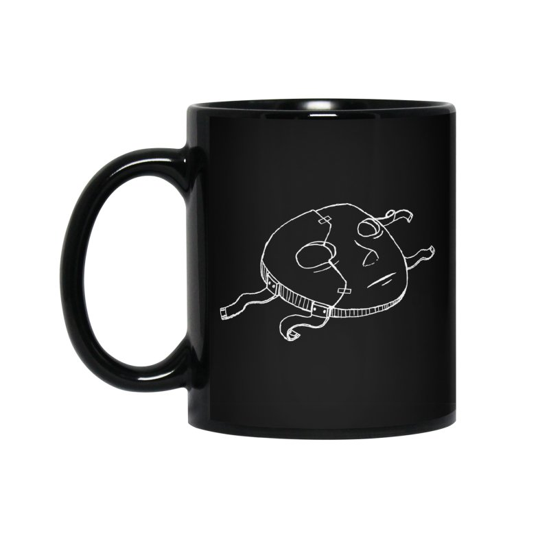 Sal's Mask Accessories Standard Mug by Official Sally Face Merch