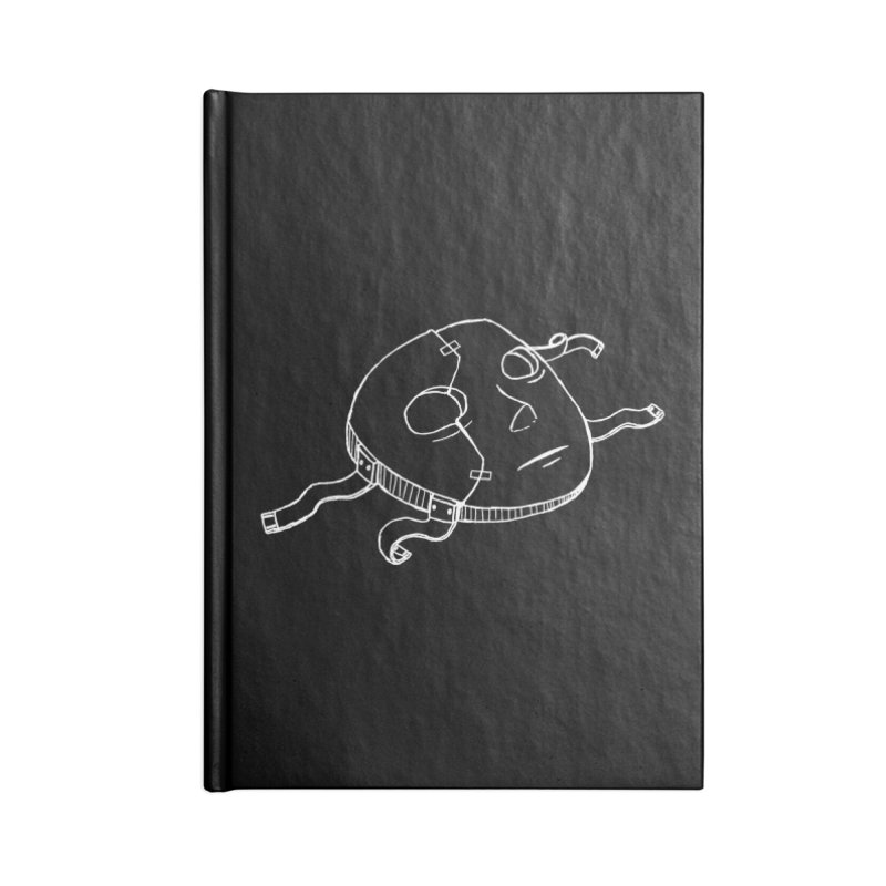 Sal's Mask Accessories Lined Journal Notebook by Official Sally Face Merch