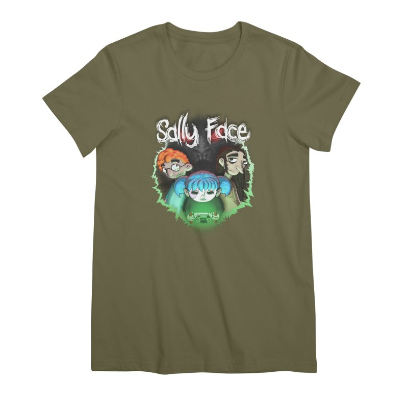 The Wretched Women's Premium T-Shirt by Official Sally Face Merch