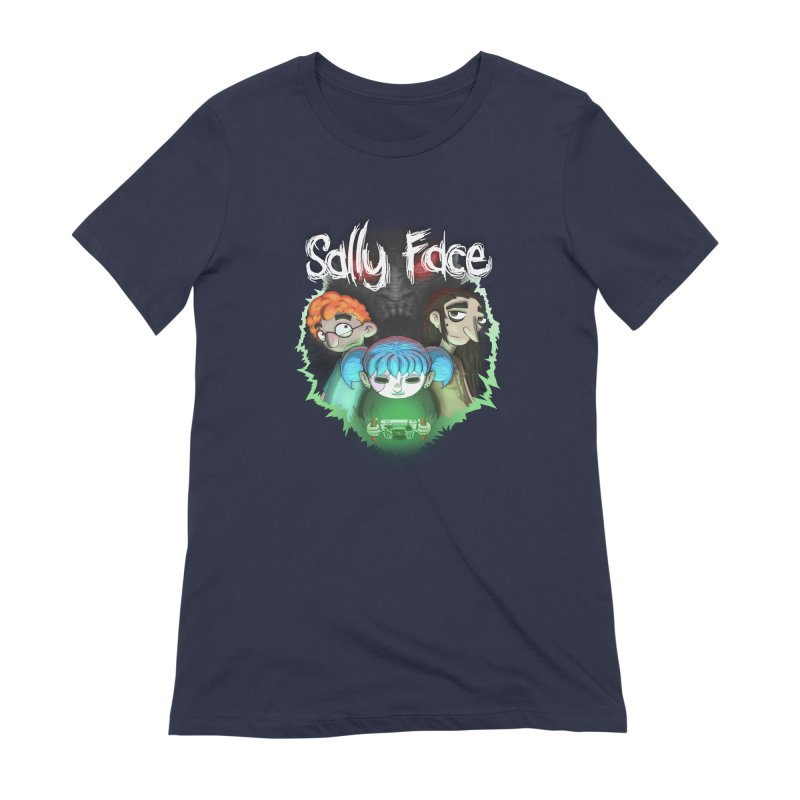 The Wretched Women's Extra Soft T-Shirt by Official Sally Face Merch