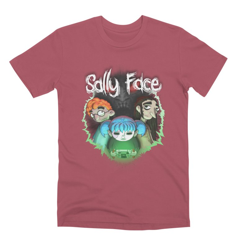 The Wretched Men's Premium T-Shirt by Official Sally Face Merch