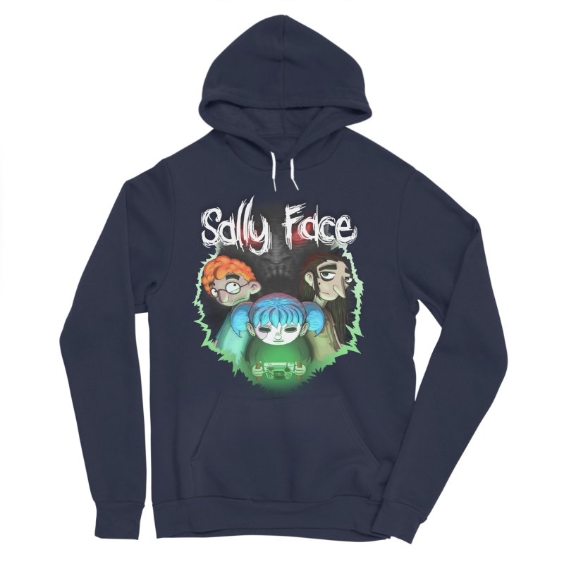 The Wretched Women's Sponge Fleece Pullover Hoody by Official Sally Face Merch
