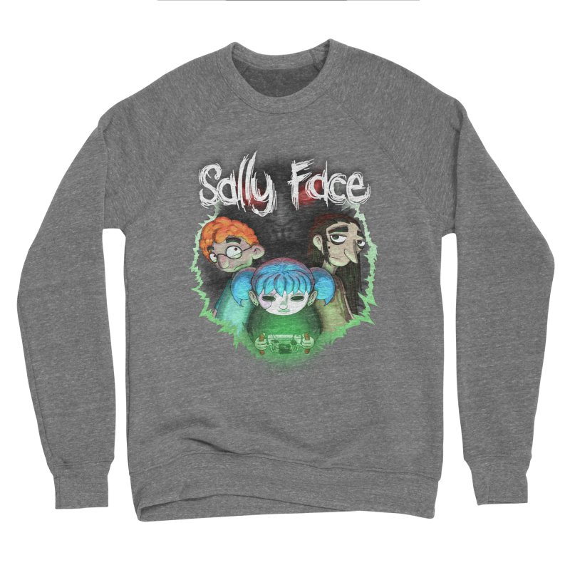 The Wretched Men's Sponge Fleece Sweatshirt by Official Sally Face Merch
