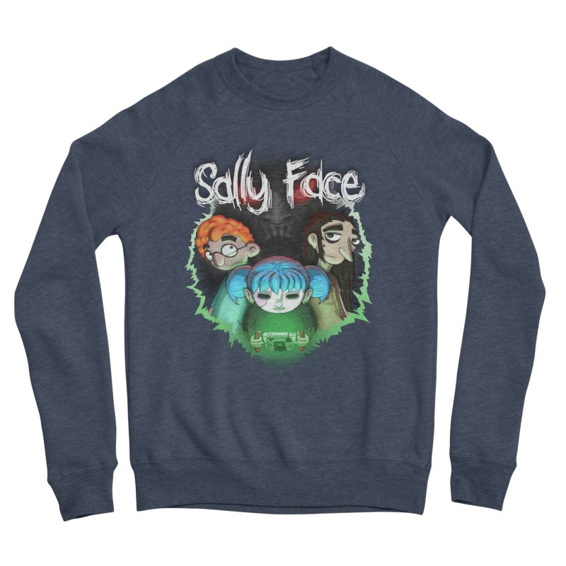 The Wretched Women's Sponge Fleece Sweatshirt by Official Sally Face Merch