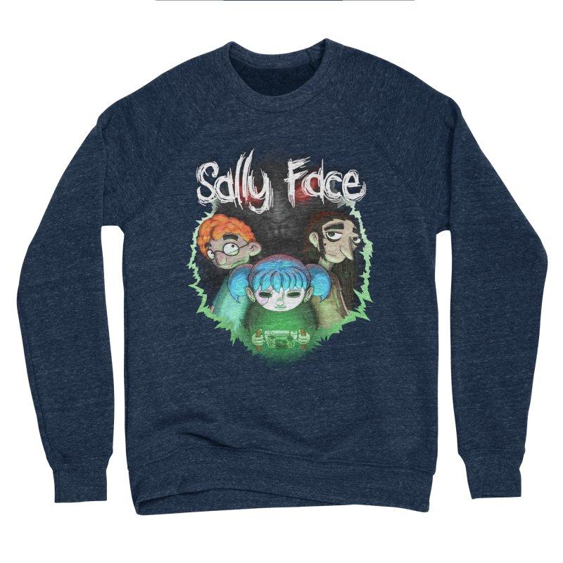 The Wretched Men's Sponge Fleece Sweatshirt by Official Sally Face Merch