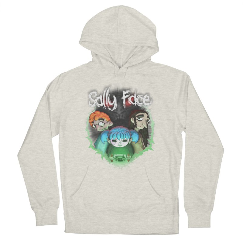 The Wretched Women's French Terry Pullover Hoody by Official Sally Face Merch