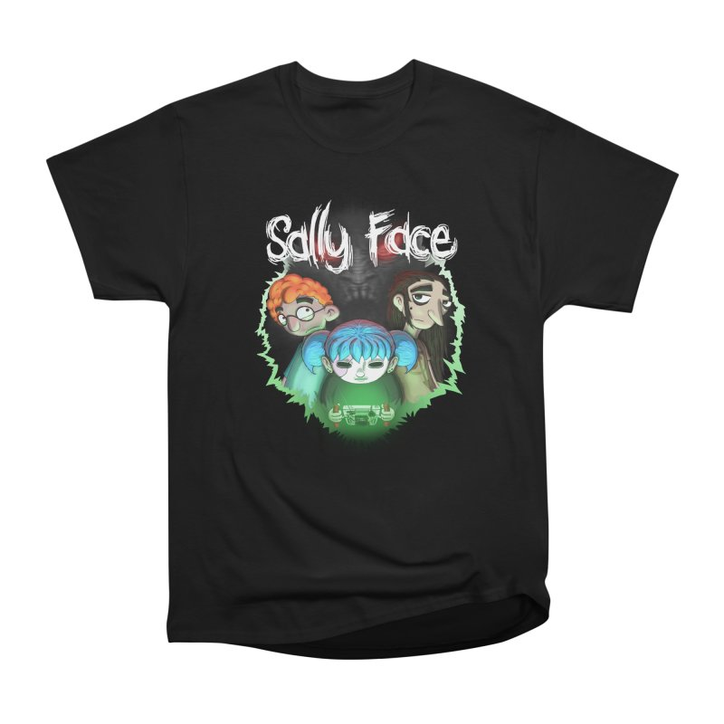 The Wretched Men's Heavyweight T-Shirt by Official Sally Face Merch