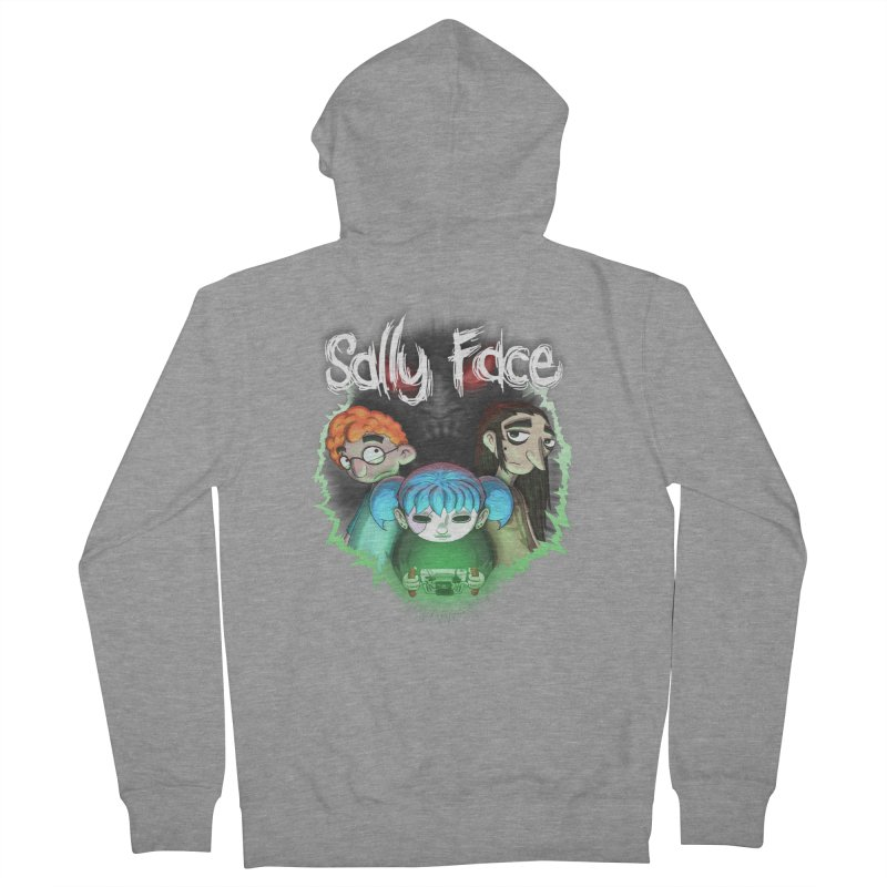 The Wretched Women's French Terry Zip-Up Hoody by Official Sally Face Merch
