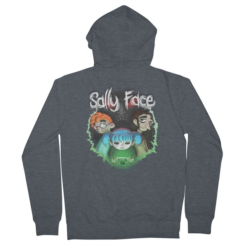 The Wretched Men's French Terry Zip-Up Hoody by Official Sally Face Merch