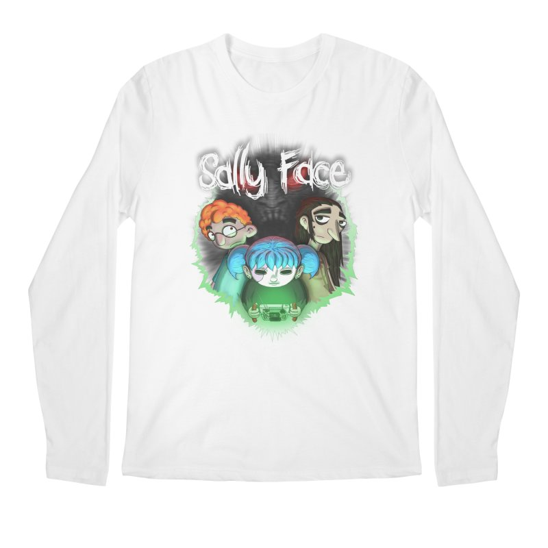 The Wretched Men's Regular Longsleeve T-Shirt by Official Sally Face Merch