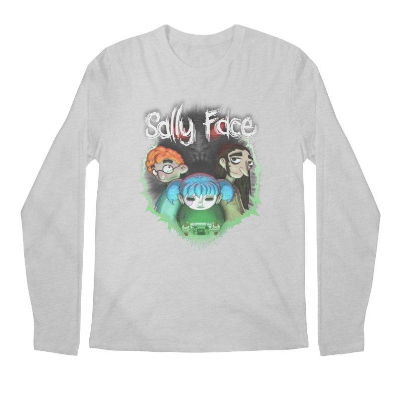 The Wretched Men's Regular Longsleeve T-Shirt by Official Sally Face Merch