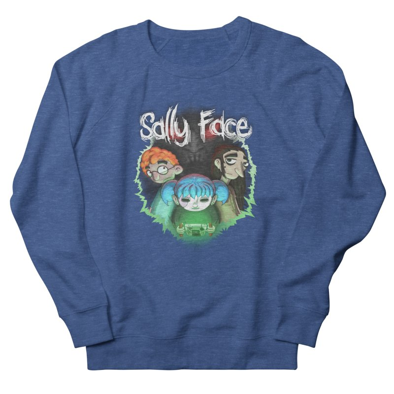 The Wretched Women's French Terry Sweatshirt by Official Sally Face Merch