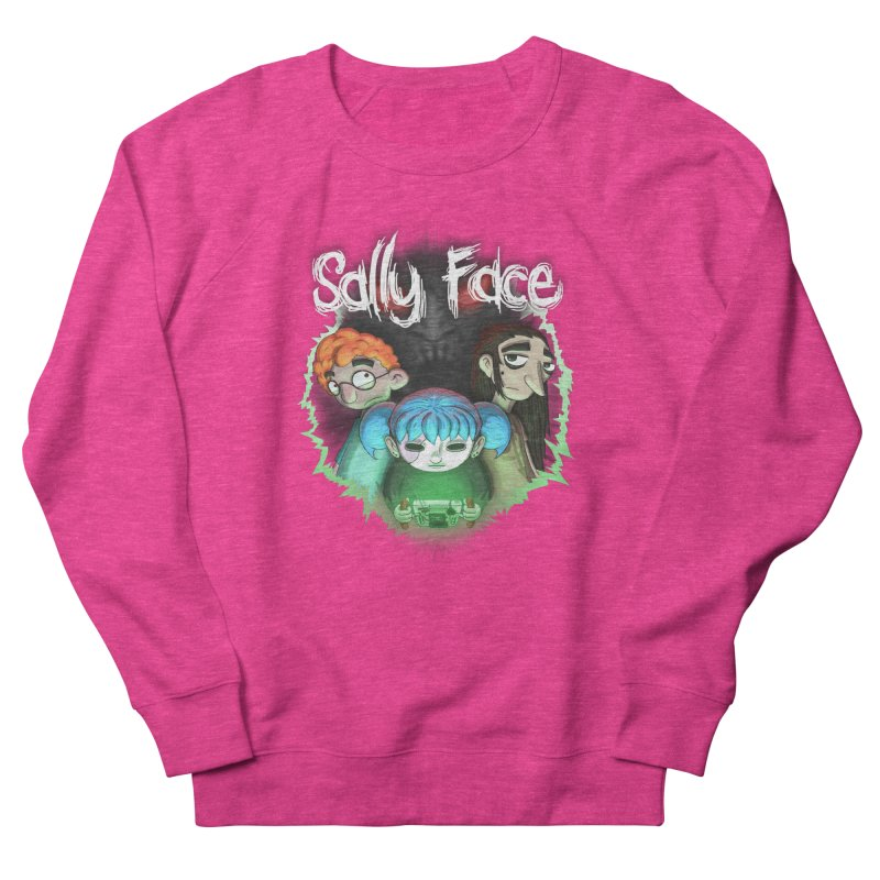 The Wretched Men's French Terry Sweatshirt by Official Sally Face Merch