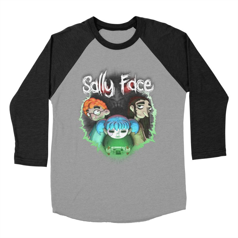 The Wretched Women's Baseball Triblend Longsleeve T-Shirt by Official Sally Face Merch