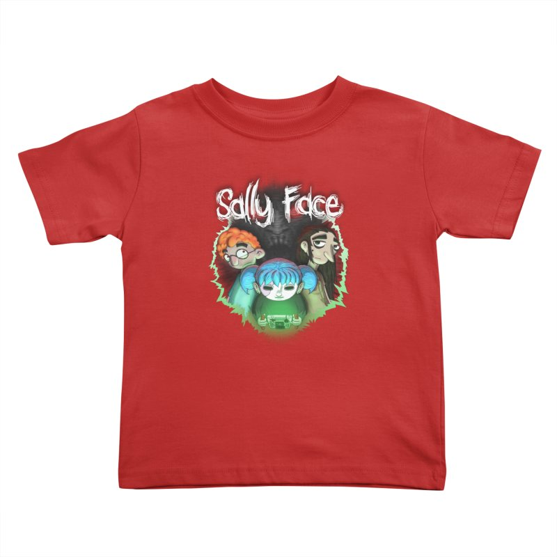The Wretched Kids Toddler T-Shirt by Official Sally Face Merch
