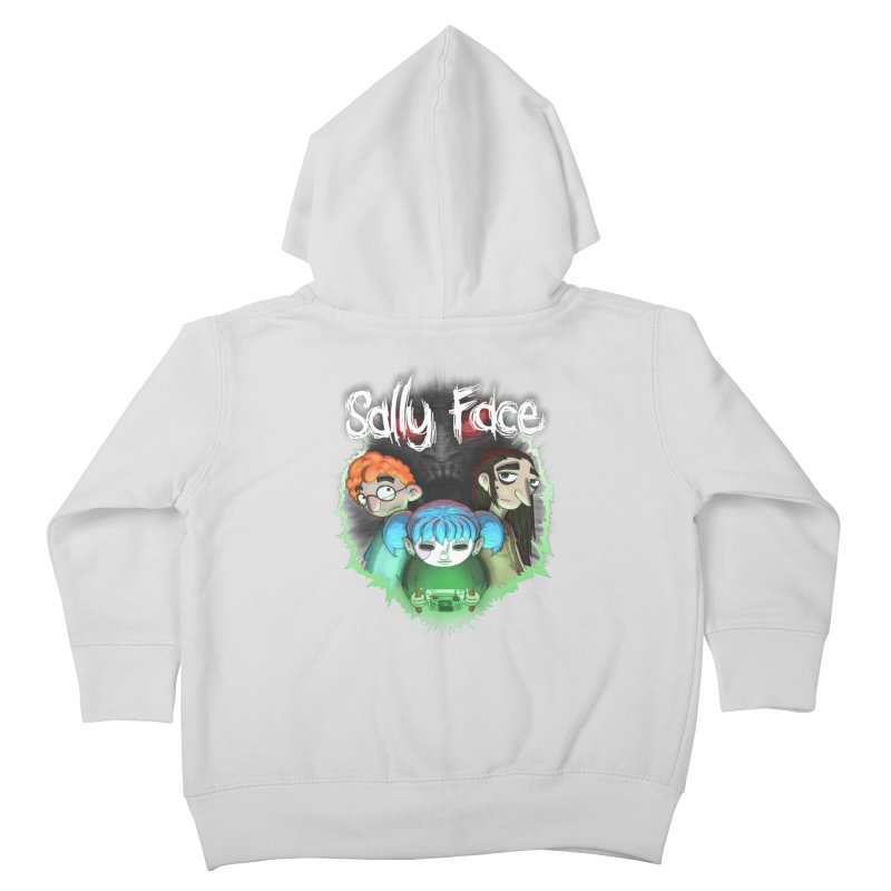The Wretched Kids Toddler Zip-Up Hoody by Official Sally Face Merch