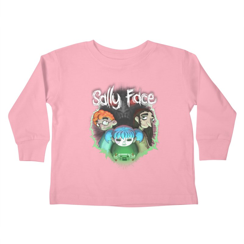 The Wretched Kids Toddler Longsleeve T-Shirt by Official Sally Face Merch