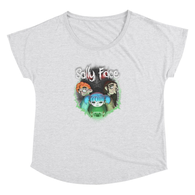 The Wretched Women's Dolman Scoop Neck by Official Sally Face Merch