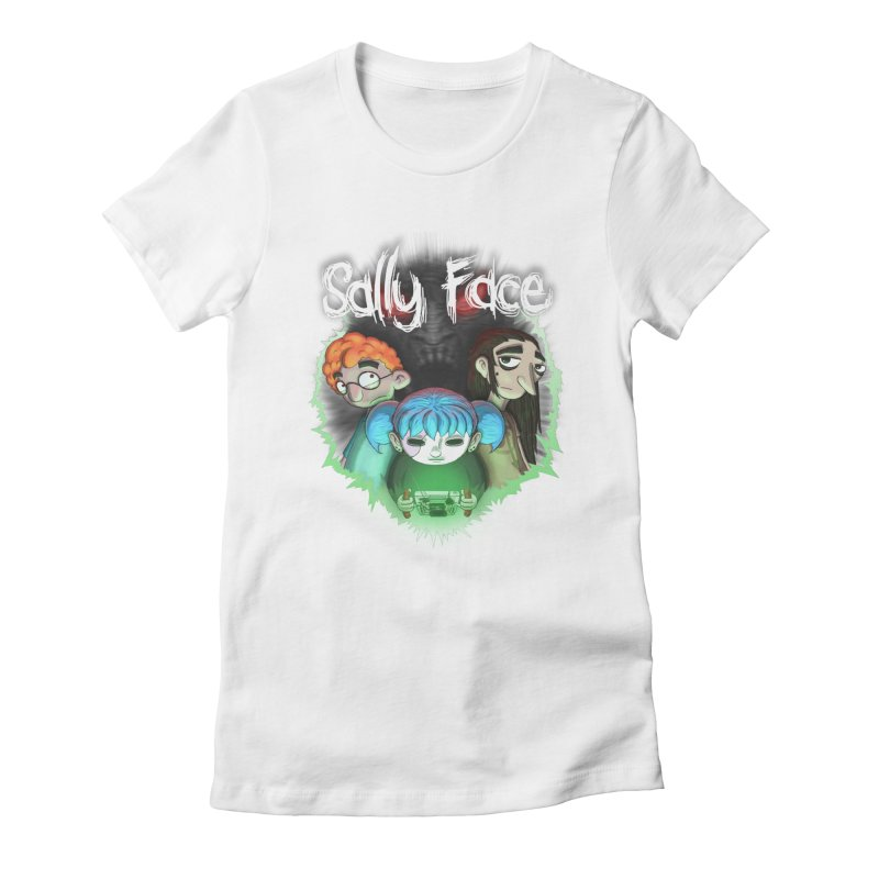 The Wretched Women's Fitted T-Shirt by Official Sally Face Merch