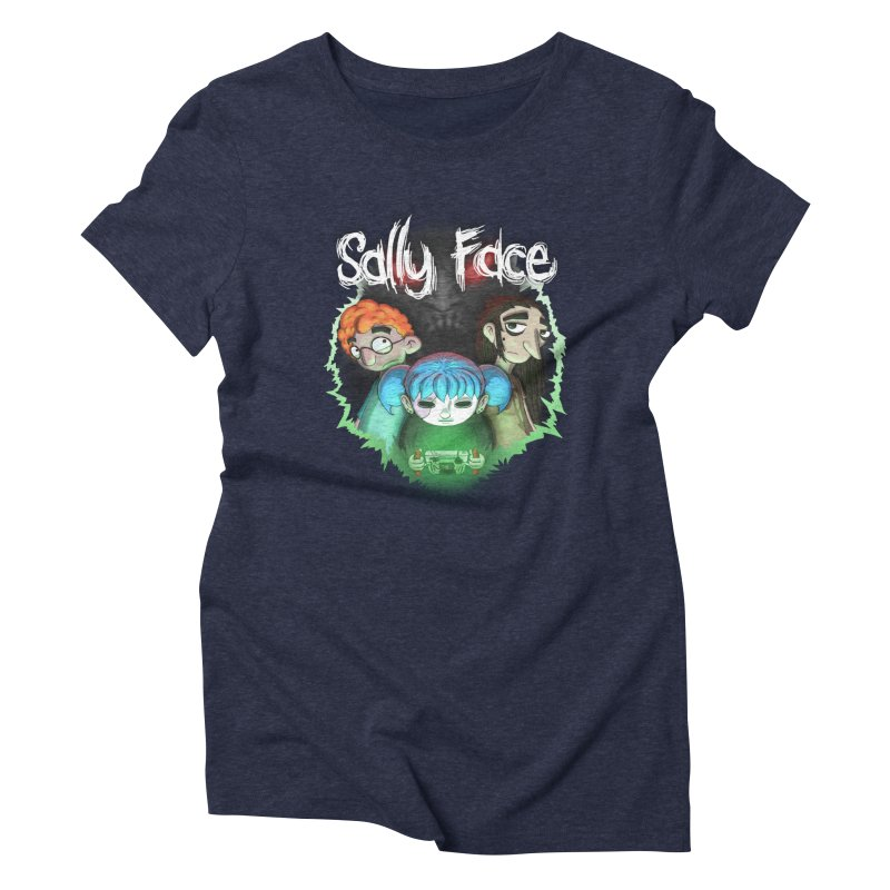 The Wretched Women's Triblend T-Shirt by Official Sally Face Merch