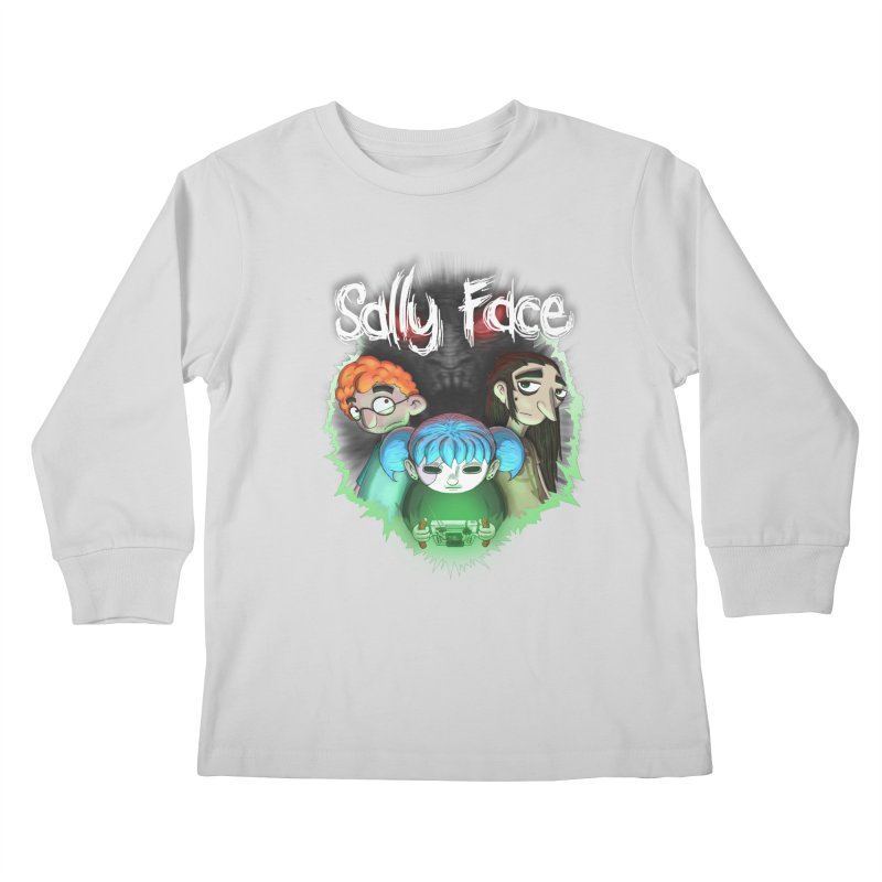 The Wretched Kids Longsleeve T-Shirt by Official Sally Face Merch