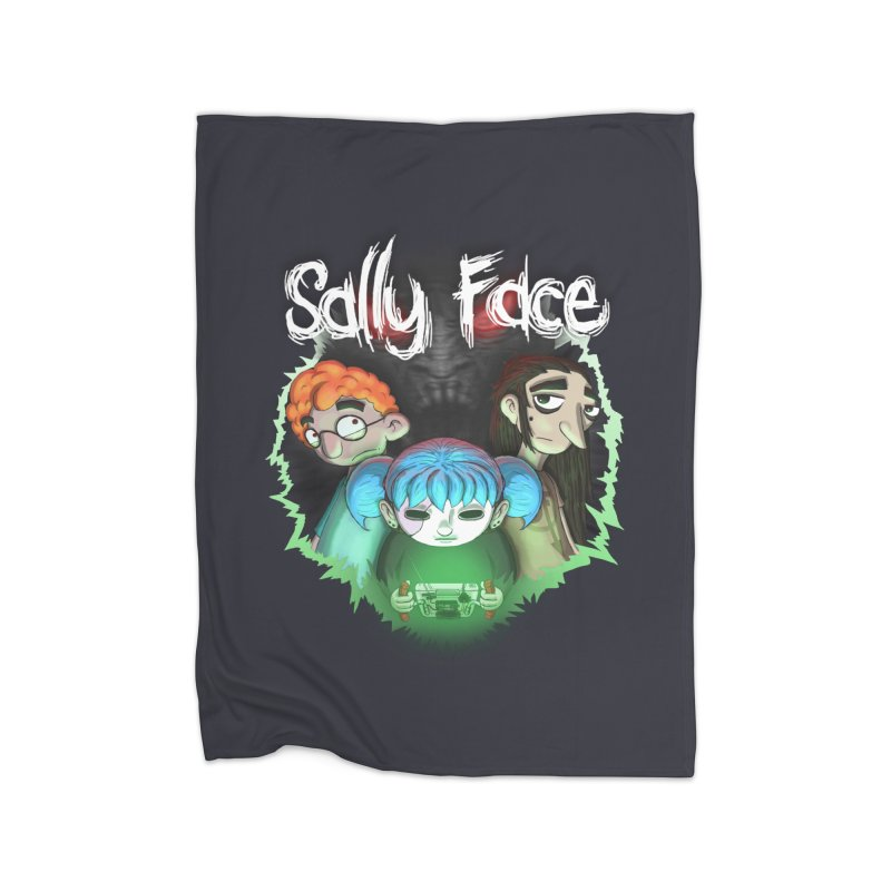 The Wretched Home Fleece Blanket Blanket by Official Sally Face Merch