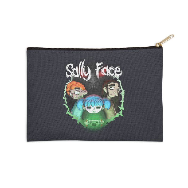 The Wretched Accessories Zip Pouch by Official Sally Face Merch