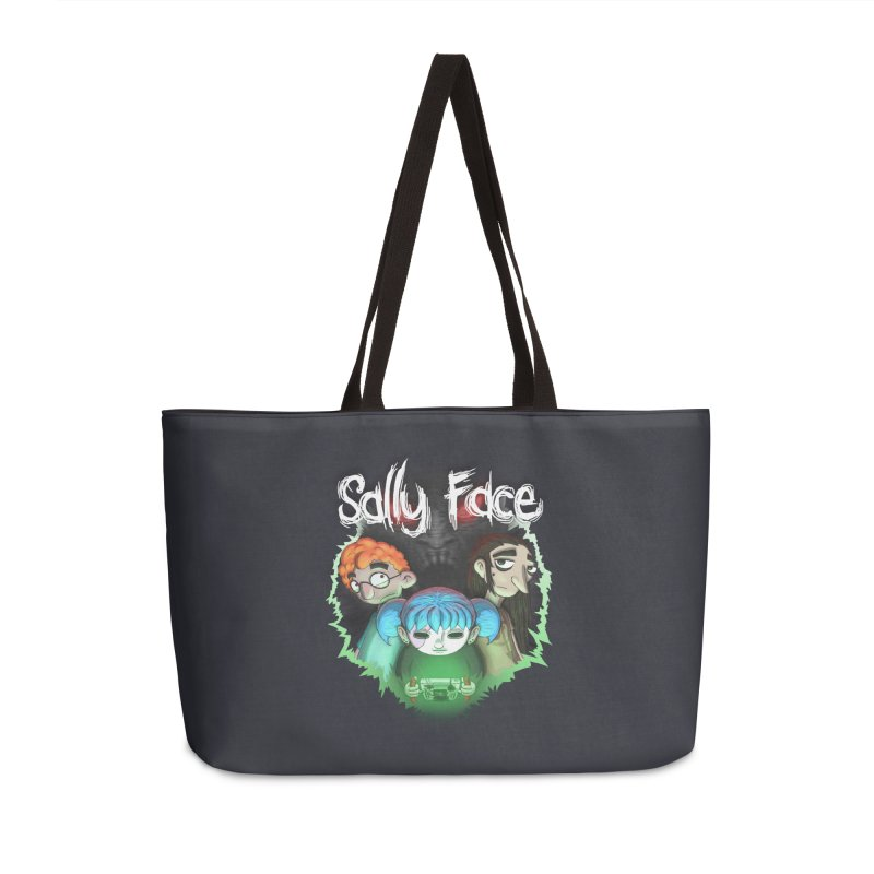 The Wretched Accessories Weekender Bag Bag by Official Sally Face Merch