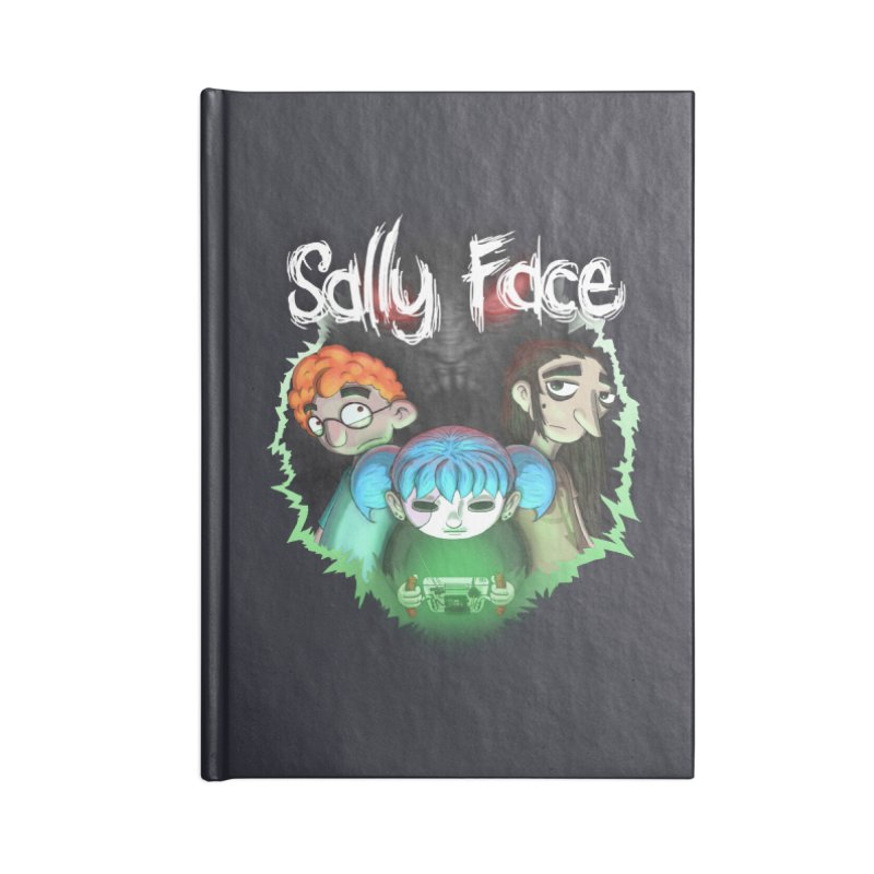 The Wretched Accessories Lined Journal Notebook by Official Sally Face Merch