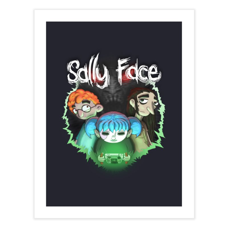 The Wretched Home Fine Art Print by Official Sally Face Merch