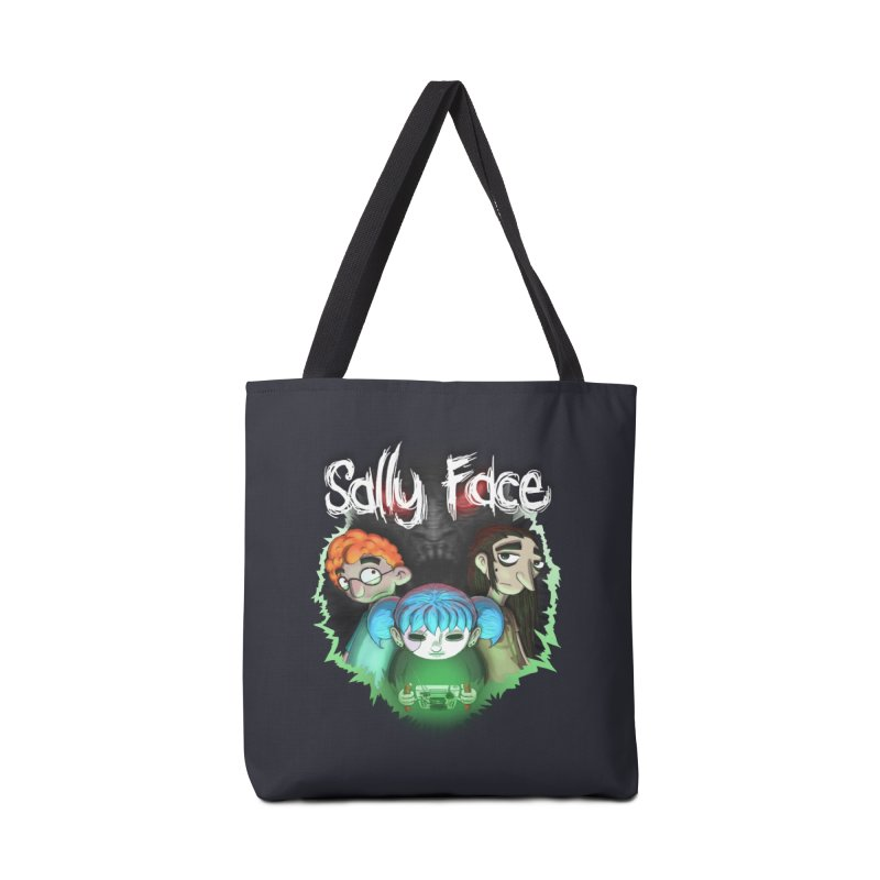The Wretched Accessories Tote Bag Bag by Official Sally Face Merch