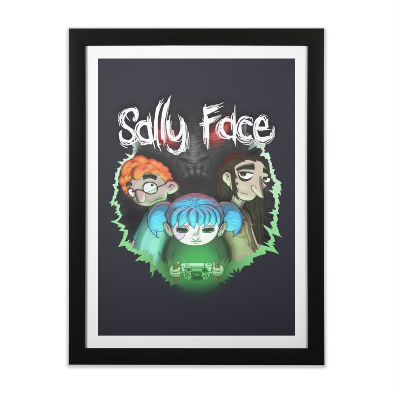 The Wretched Home Framed Fine Art Print by Official Sally Face Merch