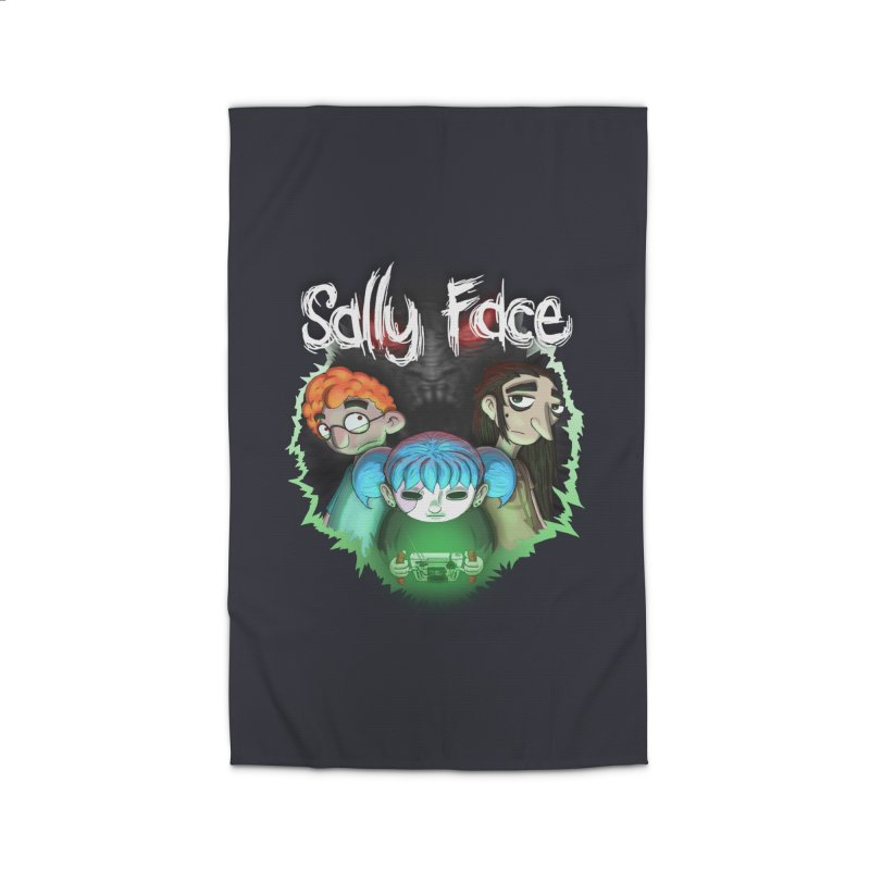 The Wretched Home Rug by Official Sally Face Merch
