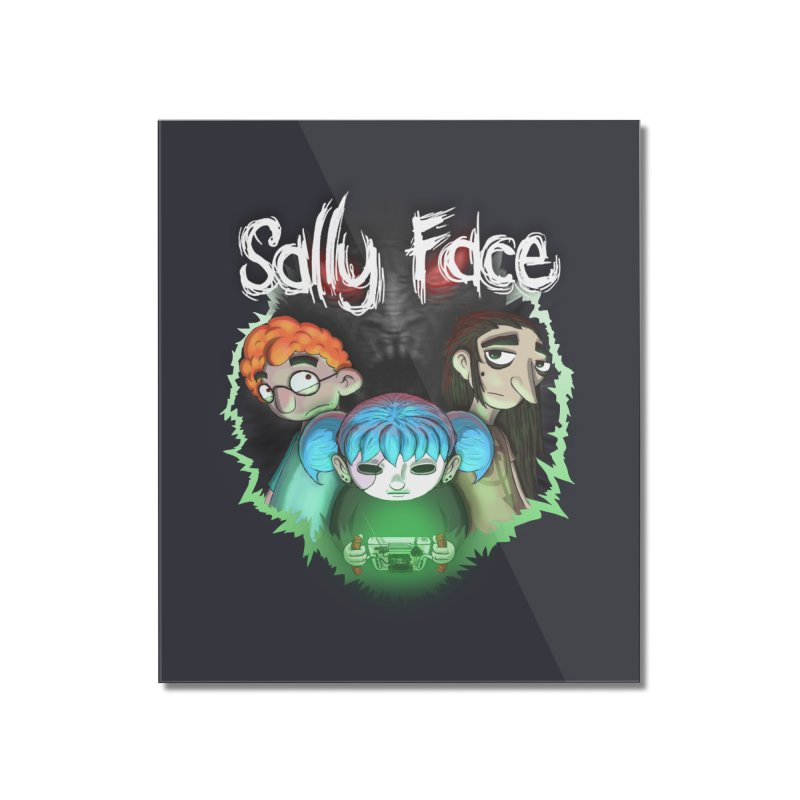 The Wretched Home Mounted Acrylic Print by Official Sally Face Merch
