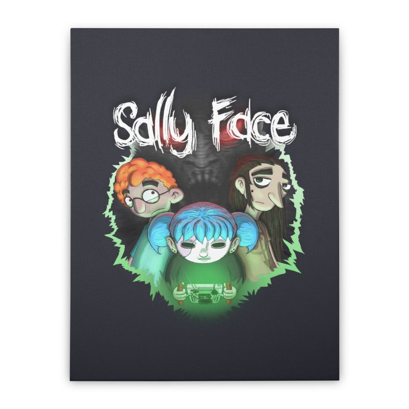 The Wretched Home Stretched Canvas by Official Sally Face Merch