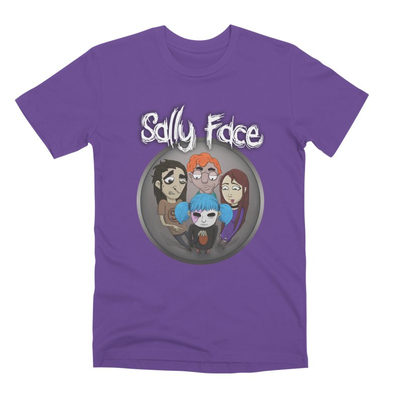 The Bologna Incident Men's Premium T-Shirt by Official Sally Face Merch