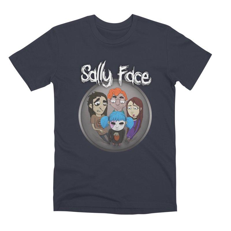 The Bologna Incident Men's Premium T-Shirt by Official Sally Face Merch