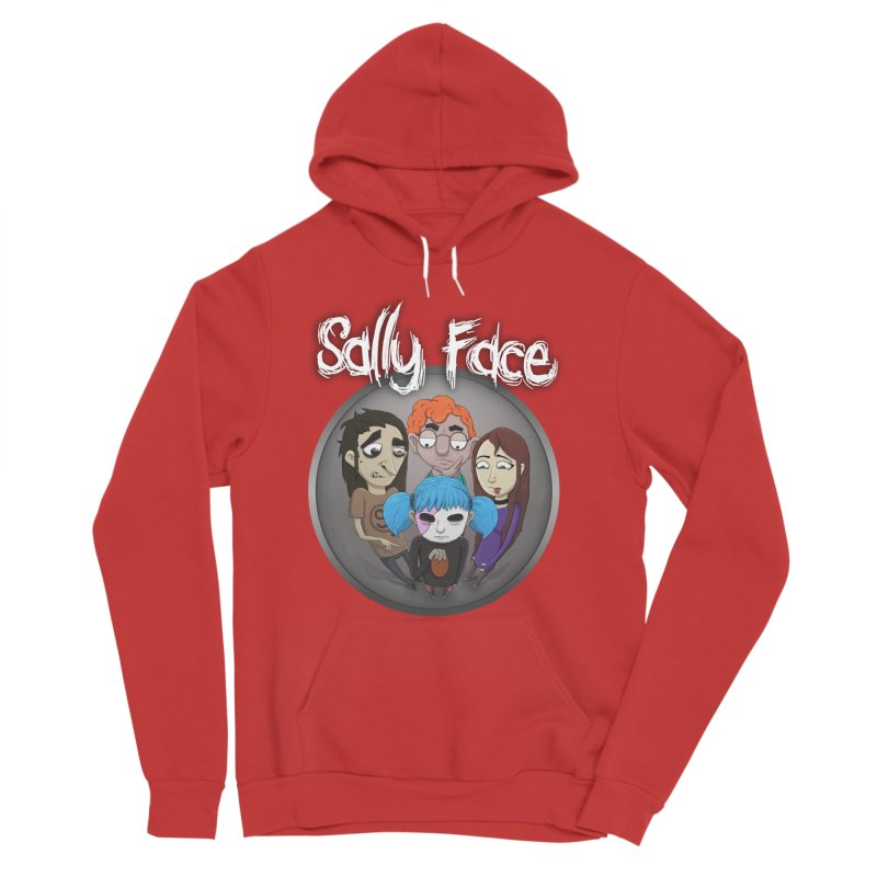 The Bologna Incident Women's Sponge Fleece Pullover Hoody by Official Sally Face Merch