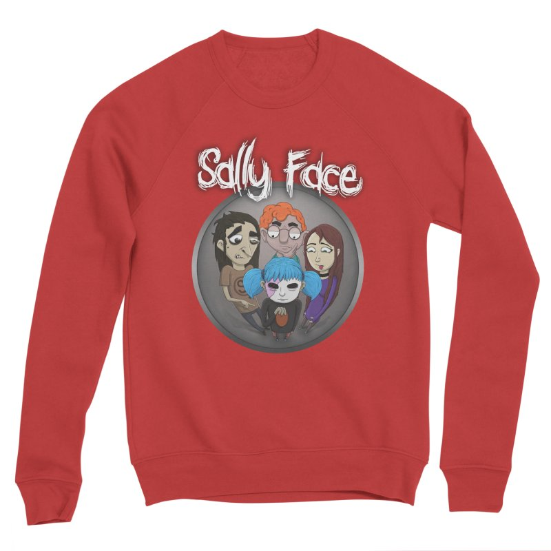The Bologna Incident Men's Sponge Fleece Sweatshirt by Official Sally Face Merch