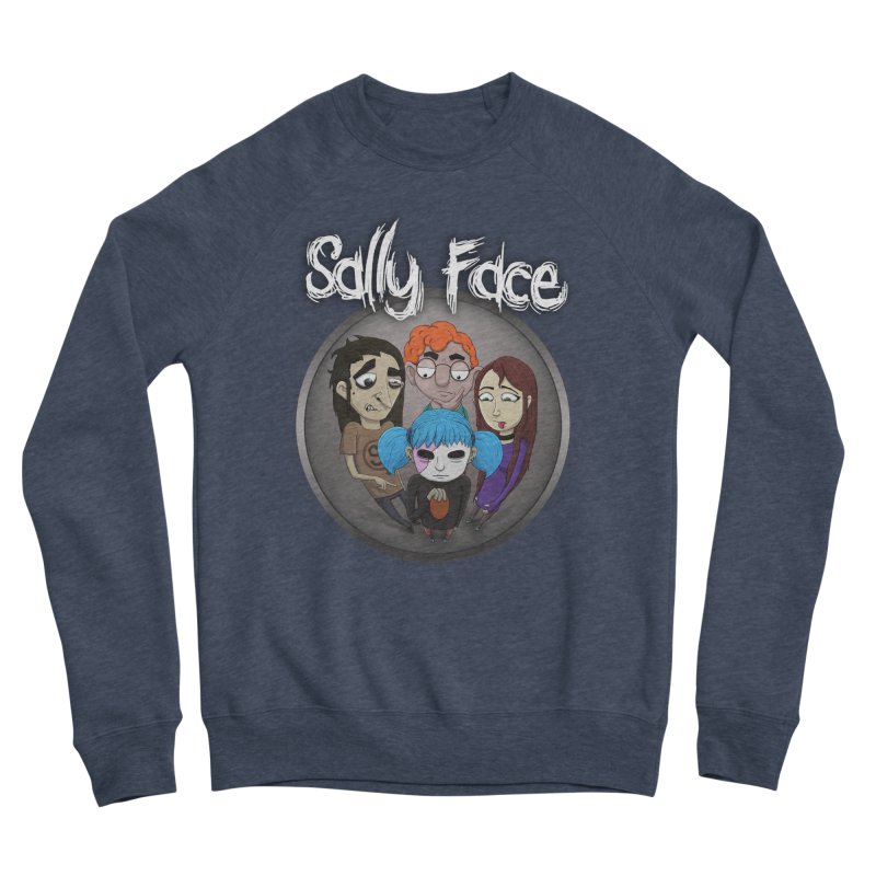 The Bologna Incident Women's Sponge Fleece Sweatshirt by Official Sally Face Merch